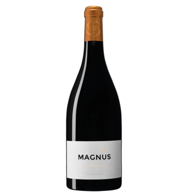 Bouteille de Magnus rouge