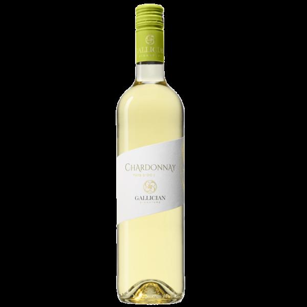 Bouteille de Chardonnay Blanc